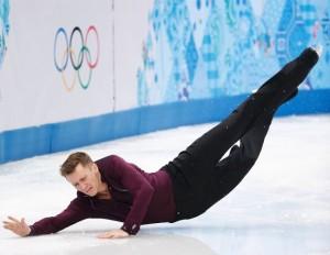 Jeremy Abbott Men's Ice Skating - Sochi Olympics February 13, 2013
