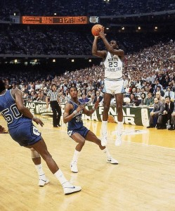 Michael Jordan Game winning shot  1981 NCAA Championship
