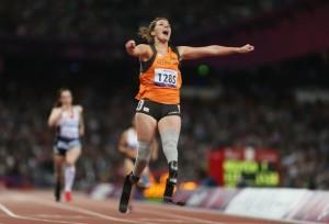 Marlou Van Rhijn Gold Medal - Women's 200m Paralympics - London